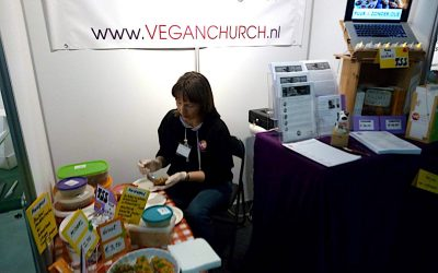 Vegan Church op VeggieWorld