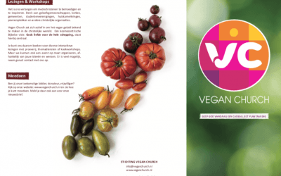 Nieuwe Vegan Church flyer